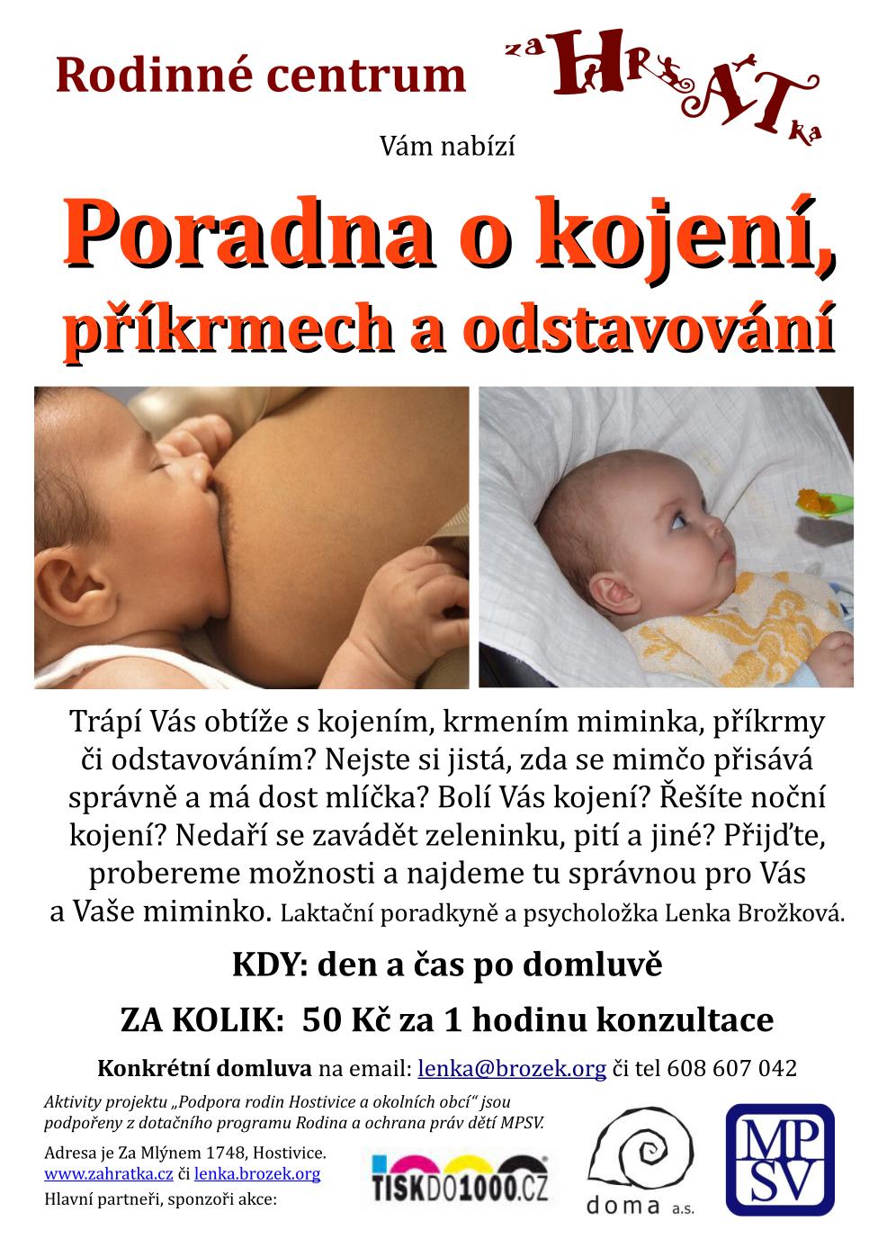 poradna kojeni