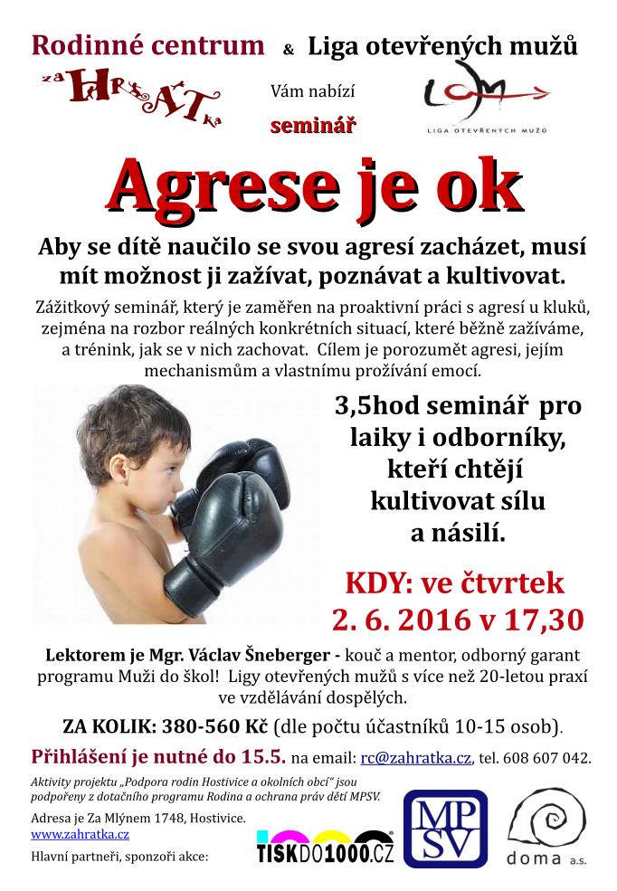Agrese je OK 2016-06