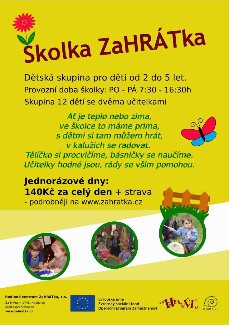 letak_skolka _lenka_jednorazove dny
